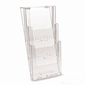 3W230 | 3 Pocket A4 Portrait Leaflet Holder